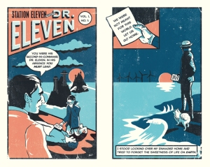 Station Eleven Comic, Drawn By Nathan Burton