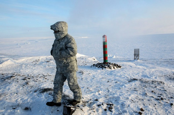 Russian President Vladimir Putin visits Franz Joseph Land in Arctic